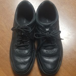Men's Rockport Black Leather Casual Shoes SZ 11.5N